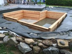 Garden Art From Junk Design Ideas For Summer 41 Swimming Pool Pond, Swimming Pool Pictures, Natural Swimming Ponds, Natural Pond, Small Backyard Pools, Backyard Pool Designs, Diy Pool, Pool Landscaping, Backyard Ponds