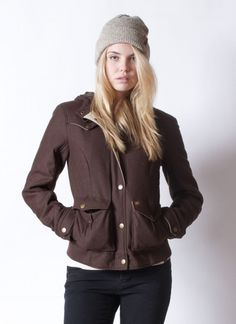 Arbor - Drifter Geek Chic, Androgynous, My Design, Winter Jackets, Leather Jacket, Wool, How To Wear, Fashion, Winter Coats