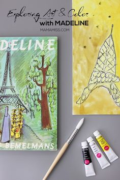 Exploring Art & Color with Madeline - a Virtual Book Club Selection from @mamamissblog