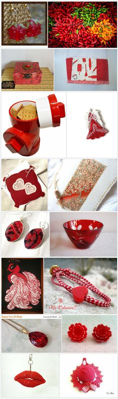 For the Love of Etsy Treasuries - Shop Red by Shelley on Etsy