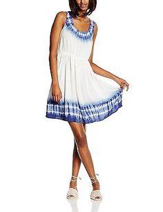 10, Multicoloured - Mehrfarbig (MIXED BATIC DYE 3028), LTB Women's Motene Dress