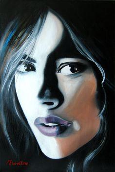 "Saatchi Art Artist: Newton Florentino; Acrylic 2013 Painting ""Moments"""