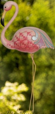 Jim Shore Flamingo