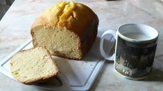 Pan de naranja (panificadora) Cornbread, Cooking, Ethnic Recipes, Food, Bread Machine Bread, Food Cakes, Sweets, Sweet Bread, Bread Recipes