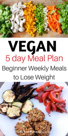 Vegan Meal Plan #veganrecipes #mealplanning #healthy #plantbased