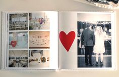 Book layout. I'd journal where the heart is.