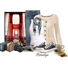 """I Left My Heart in San Francisco"" by moomoofan1972 on Polyvore"