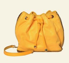Get one of the hottest styles of the season! The Stella McCartney Bucket Falabella Mini Yellow Shaggy Deer Faux Suede Shoulder Bag is a top 10 member favorite on Tradesy. Save on yours before they're sold out! Designer Handbags On Sale, Stella Mccartney Falabella, Vintage Bags, Shaggy, Mustard Yellow, Bag Sale, Bucket Bag, Deer, Shoulder Bag