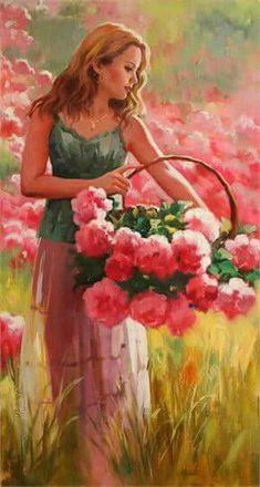 Painting People, Woman Painting, Painting & Drawing, Renaissance Kunst, Painted Ladies, Beautiful Paintings, Female Art, Art Girl, Amazing Art