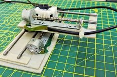 Mini CNC Laser Wood Engraver and Laser Paper Cutter. : 18 Steps (with Pictures) - Instructables Diy Electronics, Electronics Projects, Wood Engraving Tools, Engraving Ideas, Engraving Art, Laser Engraving, Wooden Diy, Wooden Signs, Physics And Mathematics