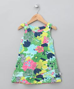 Take a look at this Turquesa Valor Dress - Infant, Toddler & Girls by dudu on #zulily today!