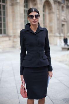 Paris Street Style Spring 2013 - Paris Fashion Week Street Style - Harper's BAZAAR