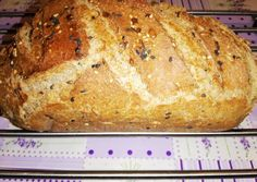Hűtőben kelt teljes kiőrlésű kenyér recept foto Bread Recipes, Cookie Recipes, Vegan Recipes, Ciabatta, World Recipes, Garlic Bread, Bread Rolls, How To Make Bread, Bread Baking