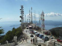 hoogste punt van Corfu de Pantocrator