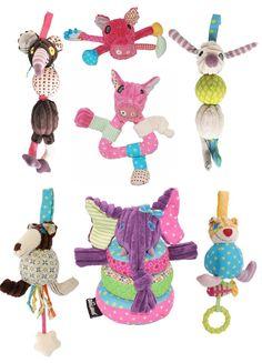 Zabawki sensoryczne Les Deglingos