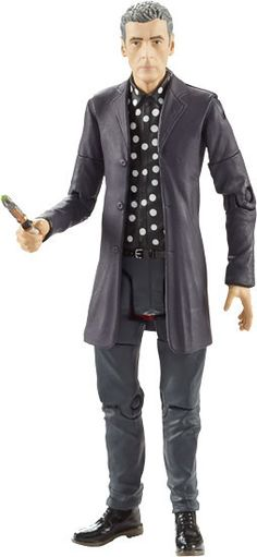 5″ 12th Doctor Figure in Polka Shirt Now in Stock!