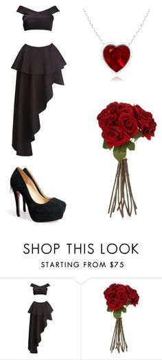 """Valentine's day with Prussia"" by kreepykitten on Polyvore featuring Fame & Partners, Sia, women's clothing, women, female, woman, misses and juniors"