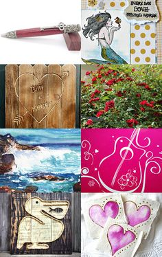Write to Me, Darling by Marcia on Etsy--Pinned with TreasuryPin.com #promotingwomen #integritytt