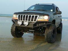 Jeep WJ tube bumper build