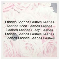 Did someone say lashes?