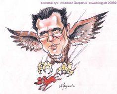 Arkadiusz Gacparski: Stefan Kosiewski w karykaturze - Fotos