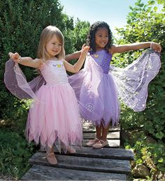 ~My girls would LOVE these~  Fairy Princess Dress