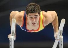 Spanish gymnast Javier Gomez Fuertes