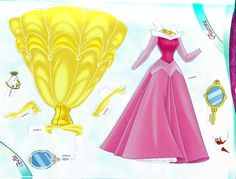 Miss Missy Paper Dolls: All Dressed Up Disney Princess Paper dolls Part 1