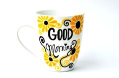 Rise And Shine - Personalised Mugs