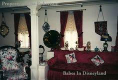 A rare look inside Walt Disney's Disneyland apartment-