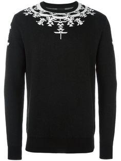 MARCELO BURLON COUNTY OF MILAN 'Huemules' jumper. #marceloburloncountyofmilan #cloth #sweater