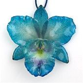 real flower covered with resin                                                                                                                                                                                 More
