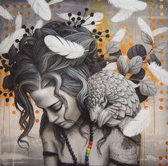 Illusion Paintings, Bo Bartlett, Alex Colville, Audrey Kawasaki, Stencil Art, Art For Art Sake, Andrew Wyeth, Pottery Painting, Portrait Art