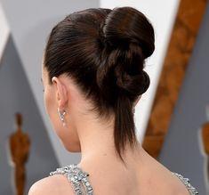 Daisy Ridley 2016 Oscars hairstyle