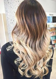 Blonde Ombre Hair Color Idea for Summer