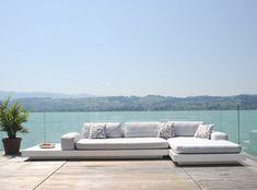 Modular sofa / contemporary / fiberglass / garden PLATFORM by Florian Viererbl RAUSCH Classics GmbH