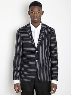 male pattern boldness: Which way should stripes go?