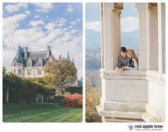 red apple tree photography: Vanessa + Dean Engagement, Biltmore House Estates, Asheville NC