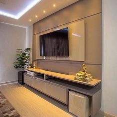 TV wall unit Designs is an essential part while designing your living room, Bedroom or tv room. Tv Stand Designs For Living Room have to be. Tv Wall Cabinets, Living Room Cabinets, Kitchen Living, Wall Unit Designs, Living Room Tv Unit Designs, Tv Cabinet Design, Tv Wall Design, Tv Wand Ikea, Armoires Murales Tv