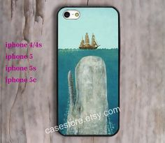 Jaws Shark  iPhone 5 Case Bright iPhone 5 5s by charmcover on Etsy, $7.99