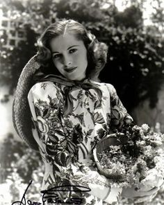 Joan de Beauvoir de Havillan, sister of Olivia DeHaviland.  (1917-2013), known professionally as Joan Fontaine. British-American actress who won an academy award for the film REBECCA in 1941.