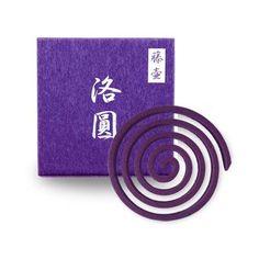Fujitsubo Wisteria Incense Coils
