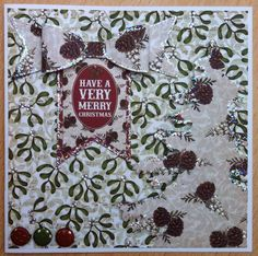 Craftwork Cards:Christmas 6 X 6 papers