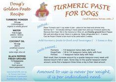 Tumeric Paste for Dogs