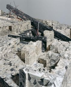 urbandesires Daniel Libeskind_City Edge. 1987-1988