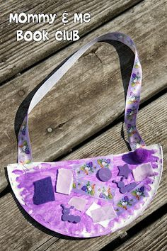 This purple purse is just one of Mommy and Me Book Clu's great activities . This purple purse is just one of the great activities from Mommy and Me Book Clu. This purple purse is just one of the great activities from Mommy and Me Book Club for Lilly's Preschool Colors, Preschool Crafts, Toddler Preschool, Toddler Crafts, Kindergarten Activities, Activities For Kids, Big Green Monster, Purple Crafts, Kevin Henkes