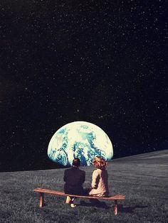 59 Ideas trippy art illustration posts for 2019 Collage Kunst, Art Du Collage, Art Collages, Psychedelic Art, Inspiration Art, Art Inspo, Journal Inspiration, Art And Illustration, Fantasy Kunst