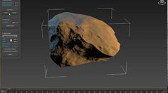 Download RStones 3ds Max Script To generate Rock model