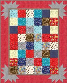 Summer Bloom Quilt Pattern Download | Quilting | Pinterest ... : quilt sew clever - Adamdwight.com