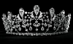 The Bourbon Parma Tiara created by Joseph Chaumet in 1919